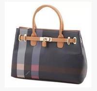 2013 women's handbag small lock exquisite decorative pattern coffee ol