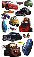 Promotion! Cheap Cars Wall Sticker,Cartoon Kids Room Wall Decor Decals, Decorative Wall Stickers