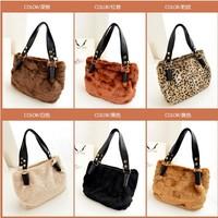 JDL22, new fashion brand designer vivi Fur bag women bags handbag women shoulder bag, 2013 Free shipping