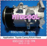 6SEU16C AC COMPRESSOR for  Toyota Camry.RAV4, Hiace