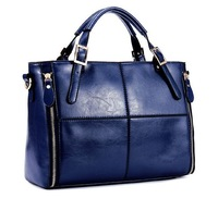Women's Genuine Leather Handbag Shoulder Bag High Quality 2013 Fashion Style Free Shipping