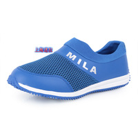 Free shipping 2013 soft outsole casual shoes breathable sports casual shoes male shoes net fabric shoes low-top men's