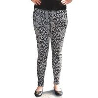 2013 autumn plus size pants cotton print 100% all-match ankle length trousers harem pants legging