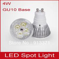 5pcs free shipping GU10 E14 E27 4W LED warm white indoor spot lamps 220v led spotlights for christmas long life span