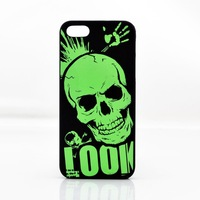 New Ultra thin Slim Fluorescent Glow Pattern in Dark Hard Cover Case For IPhone 5 5C 5G
