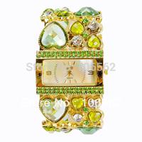 Newest women fashion style watch Free shipping  Antique Crystal Rhinestone Women Girls'Lady Alloy Quartz Adjustable Wrist Watch