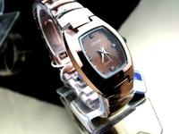 Quality Assurance quartz watches Barrel-type steel women quartz  watch Quality metal watch band