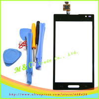Replacement Touch Screen Digitizer Glass For Optimus L9 LG P760 P765 P768 Black and White+ TOOLS free shipping