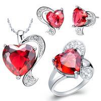 Free Shipping jewelry sets crystal jewelry wedding jewelry Women Set Birthday gift Jewelry wholesale T069