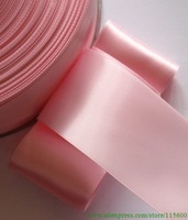 100 yards 1-1/2 inches Single Face Satin Ribbon in Pearl Pink R13-12
