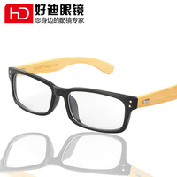 Glasses japanese style vintage handmade bamboo eyeglasses frame rivet sheet glasses 1020