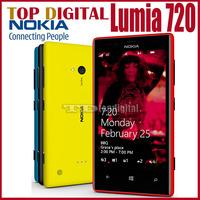 720 Original Nokia Lumia 720 Windows Phone 8 Dual core 8GB Internal WIFI GPS One year Warranty