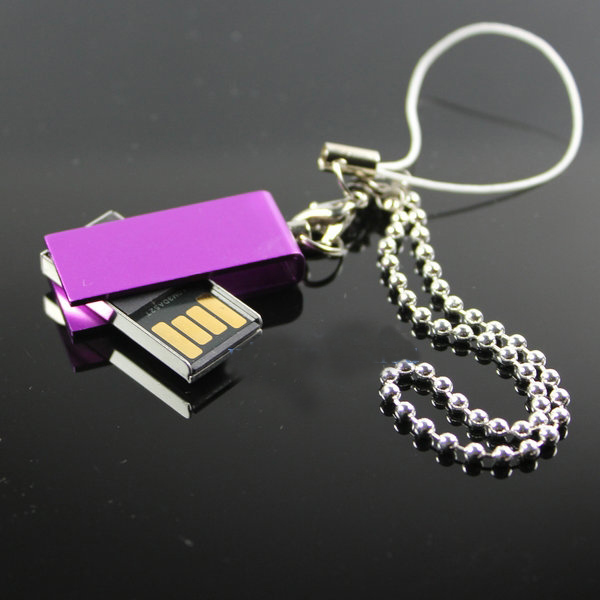 Free Shipping High speed waterproof 32g 64gb metal disk rotating usb flash drive 128g mini gift pendrive usb stick(China (Mainland))