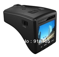 2013 OEM car DVR and radar detector in one device with strelka and 2.0 inch display 120 degree camera