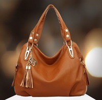 2014 New Arrived women's fashion Leather Bag Shoulder Bag soft pu leather women handbag