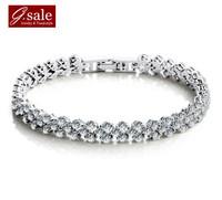 GS brand SL-23 Bracelets for women 2013 AAA zircon crystal infinity all stars fashion jewelry vintage charm bracelets Bangles