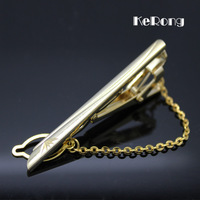 High quality Men's elegant commercial Gold plated tie clip  men's gift  Ld-03  Free shipping