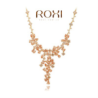 2014ROXI fashion jewelry, clear Austrian crystal, women necklaces.,Mosaic man-made necklaces,Chrismas/wedding gift,20308024850