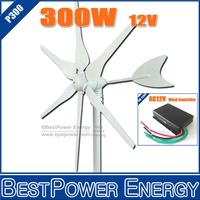 Free Shipping Wind Turbine Kits Max Power 400W Wind Turbine + 600W Micro Wind Charge Controller (Wind Generator System)