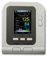 Digital Arm Blood Pressure Monitor ContecC08A, Heart Beat Meter, Sphygmomanometer LCD Display BP Monitor