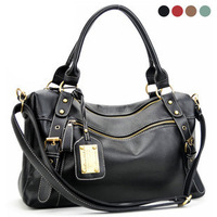 Carteras Autumn women's handbag fashion large capacity 2013 black handbag cross-body women's one shoulder casual bags