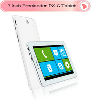 Freelander PX1 3G GPS tablet pc 7 inch IPS Screen MTK8382 Quad Core 1.2ghz Android 4.2 Dual Sim Dual Camera 5.0MP