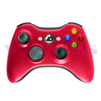 Red Wireless Controller for Xbox360
