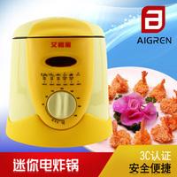 Etam multifunctional frying pan household mini electric deep fryer small frying machine fried chicken