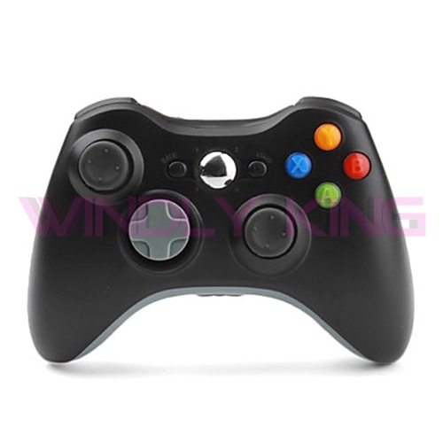 Black Wireless Controller for Xbox360(China (Mainland))