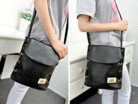 Free Shipping, Female Shoulder Bag Candy Color PU Women's Casual Fashion Shopping Handbag, Drop Shipping, BD0015