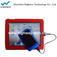 Highway hot promotional 5000mAh solar cheap charger for Ipad