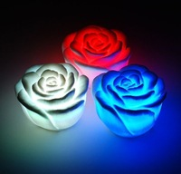 20pcs Rose Gift LED night light changing color for christmas day Items Christmas decoration Free Shipping