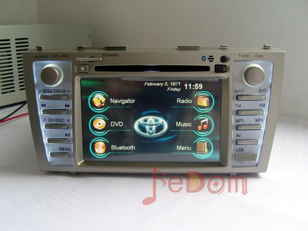 Toyota Camry dashboard dvd player car stereo sound system(China (Mainland))