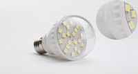Hot Sale 3W 20LED Bubble Ball Bulb E27 Socket Base Warm Light Household Energy Saving LED Light   Freeshipping Whosesale