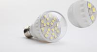 Hot Sale 3W 20LED Bubble Ball Bulb E27 Socket Base Warm Light Household Energy Saving LED Light   Freeshipping Whosesale