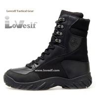 Loveslf new swat tactical boots black mens combat boots
