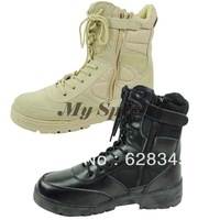 high quatity outdoor boots men hiking shoes Tactical Desert Boots gaobang help zipper  17936