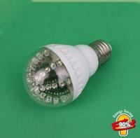 New Design Hot Sale 48LED Bubble Ball Bulb E27Socket Base Warm Light Household Energy Saving LED Light High Quality Freeshipping