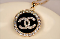 European and American fashion necklace sweater chain atmosphere