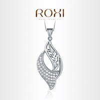 ROXI Exquisite neutral necklace platinum plated with CZ diamonds,fashion Environmental Micro-Inserted Jewelry,103008696