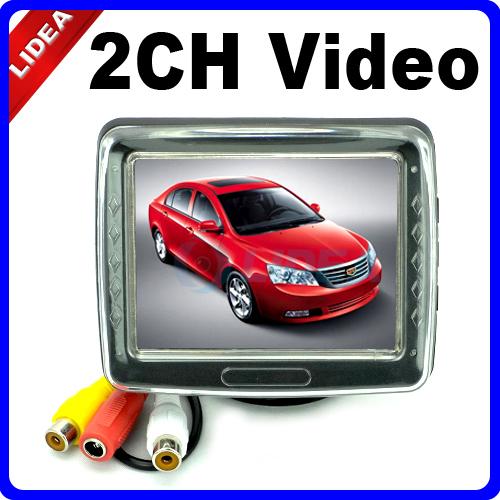 Автомобильный монитор 3.5 LCD TFT EMS q/07 автомобильный монитор 4 3 tft auto lcd