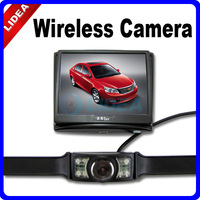 """New 2014 Hot Freeshipping Parking Wireless Car Rear View Camera + 3.5"""" Color LCD Monitor CN QS-03"""