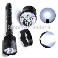 Trustfire TR-3T6 LED Flashlight 5 Mode 3800 Lumens 3x CREE XM-L XML T6 LED Torch 18650 Battery Extendable High Power Lamp Light