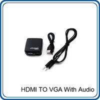 HDMI to VGA with Audio Mini Converter Box