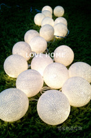Elegant white decoration lighting balls,wedding fairy lights,beautify your wedding,indoor and outdoor lighting,Free Shipping