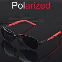 2014 New Style Polarized Sunglasses Magnesium Aluminum Alloy Men Driver Fishing Mirror Oculos De Sol A127