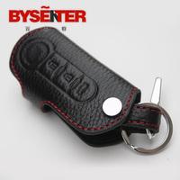 Free shipping for Fiat Bravo key case  leather key wallet keychain  fiat   fashion key holder