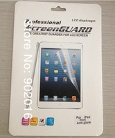 1pcs Anti-glare Screen Protector Screen guard flim for Mini IPAD(Free shipping)