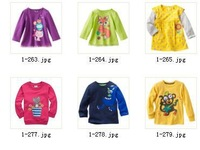 Wholeale -New  Retail Girls Jumper Tshirts  Boys Long Sleeve Tee Shirts  Children's Clothes  36pcs/lot  -ZLM172A