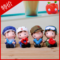 New little red army love series   [ peppa pig family] dolls piggy bank home furnishing articles  [peppa pig toys]  love gift
